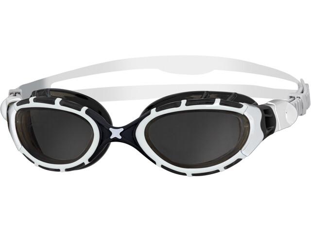 Zoggs Predator Flex Goggles, white/black/smoke
